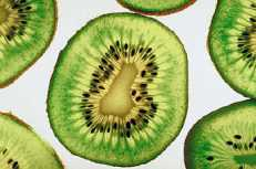 Close up of kiwi